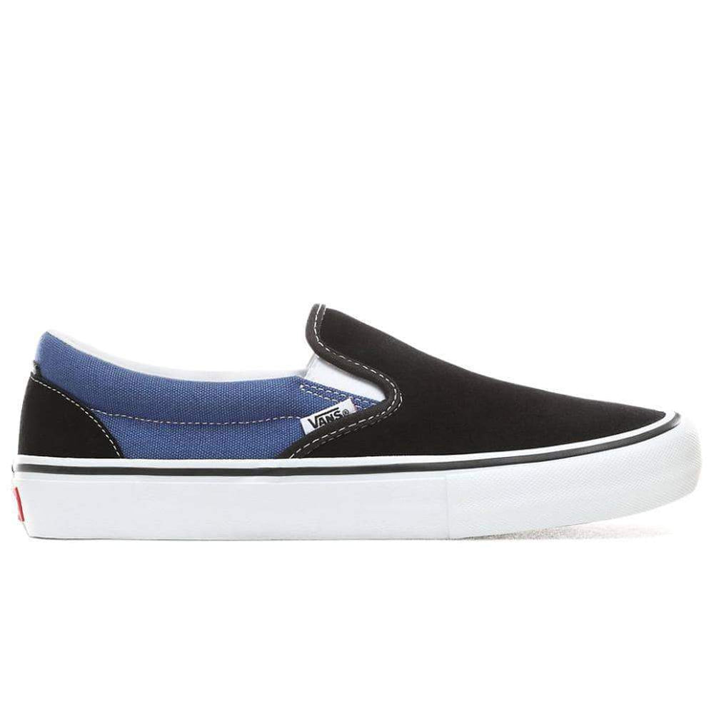 Vans x Anti Pfanner Slip-On Pro - Pfanner Black Mens Slip On Trainers by Vans