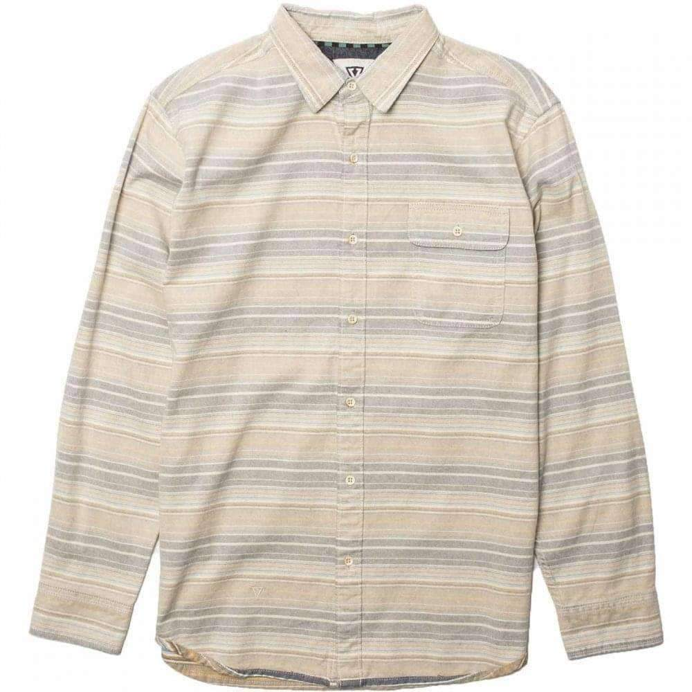 Vissla Boys Harbour Mouth Shirt in Bone Boys Casual Shirt by Vissla
