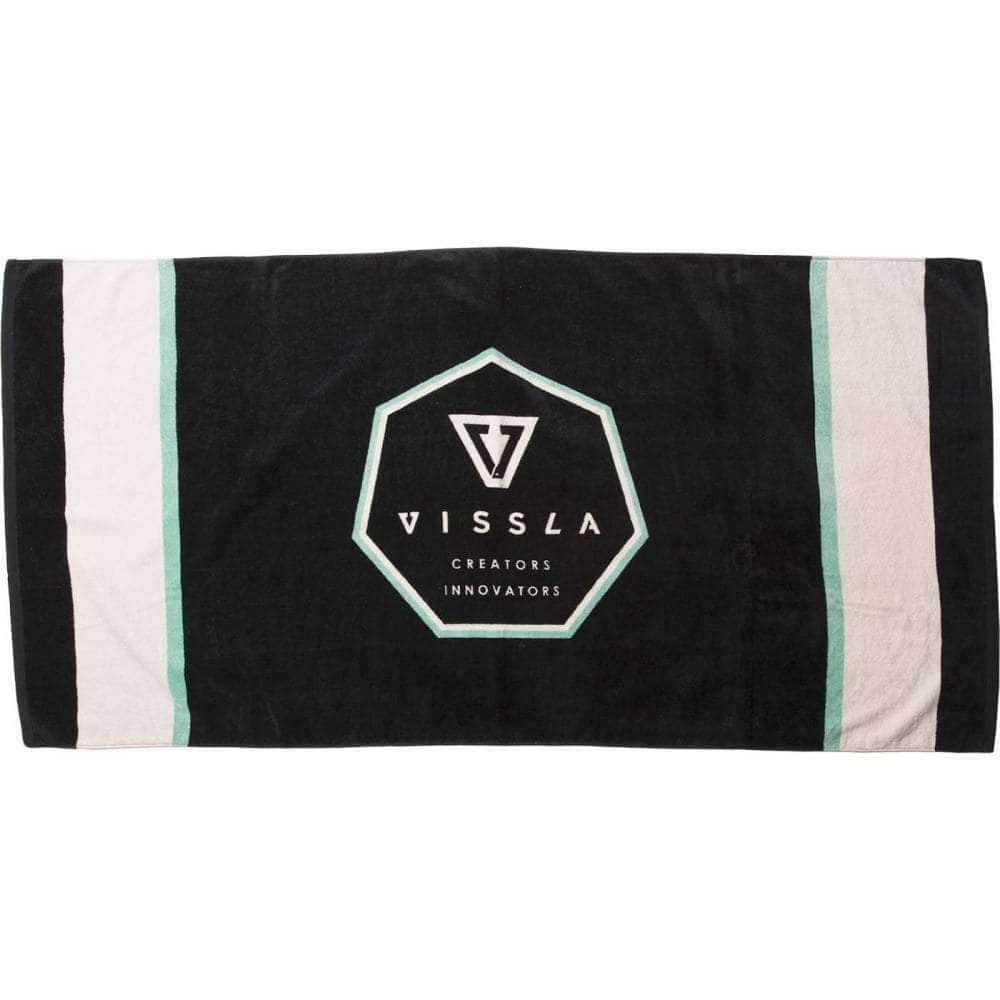 Vissla Septagon Towel in Phantom Beach Towel by Vissla