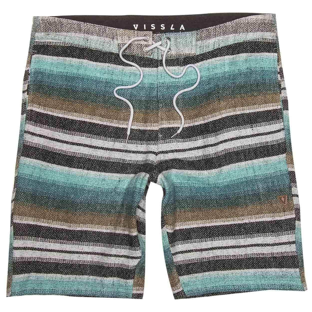 Vissla Mens Walk Shorts Vissla Sofa Surfer Tu Casa Walkshorts - Grey Heather