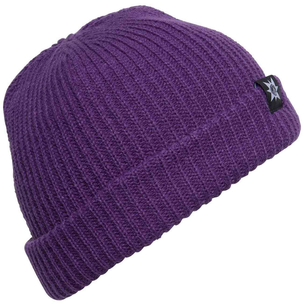 Volcom A.P. 2 Beanie Grape Royale O/S (one size) Fold Beanie Hat by Volcom