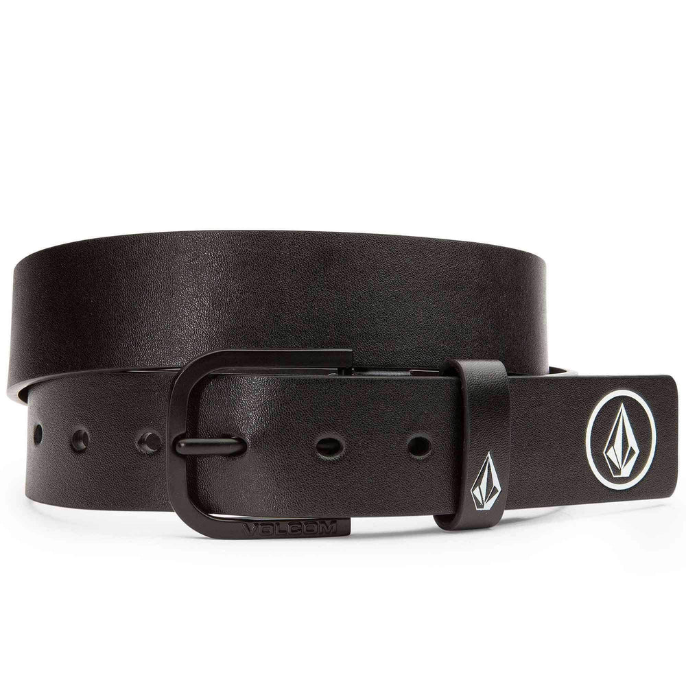Volcom Clone PU Belt in Black Mens Casual Belt by Volcom