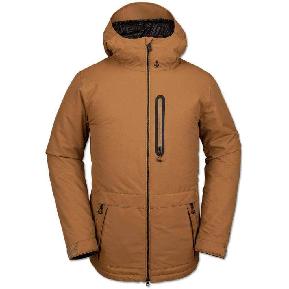 Volcom Deadly Stones Snow Jacket - Caramel Mens Snowboard/Ski Jacket by Volcom