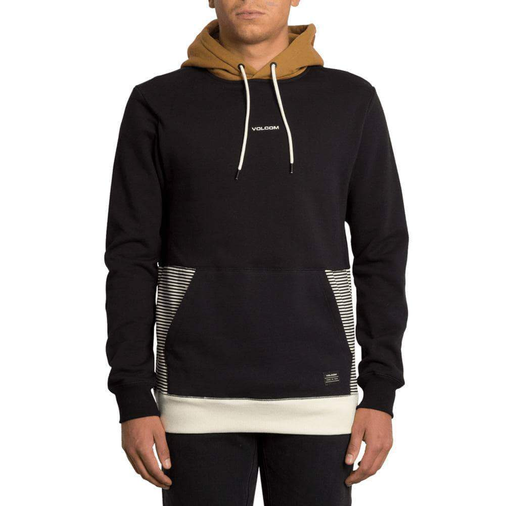 Volcom Mens Pullover Hoodie Volcom Forzee Pullover Hood - Rust
