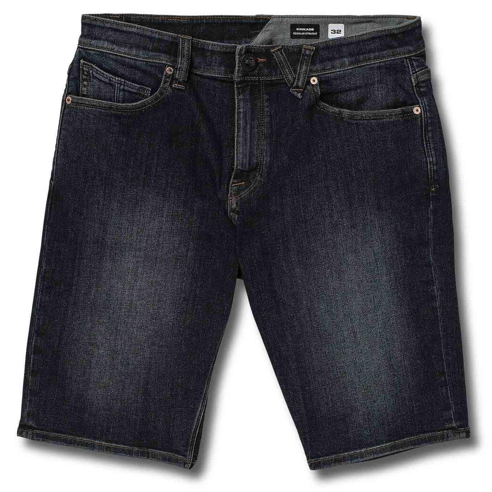 Volcom Kinkade Denim Short - Vintage Blue Mens Walk Shorts by Volcom