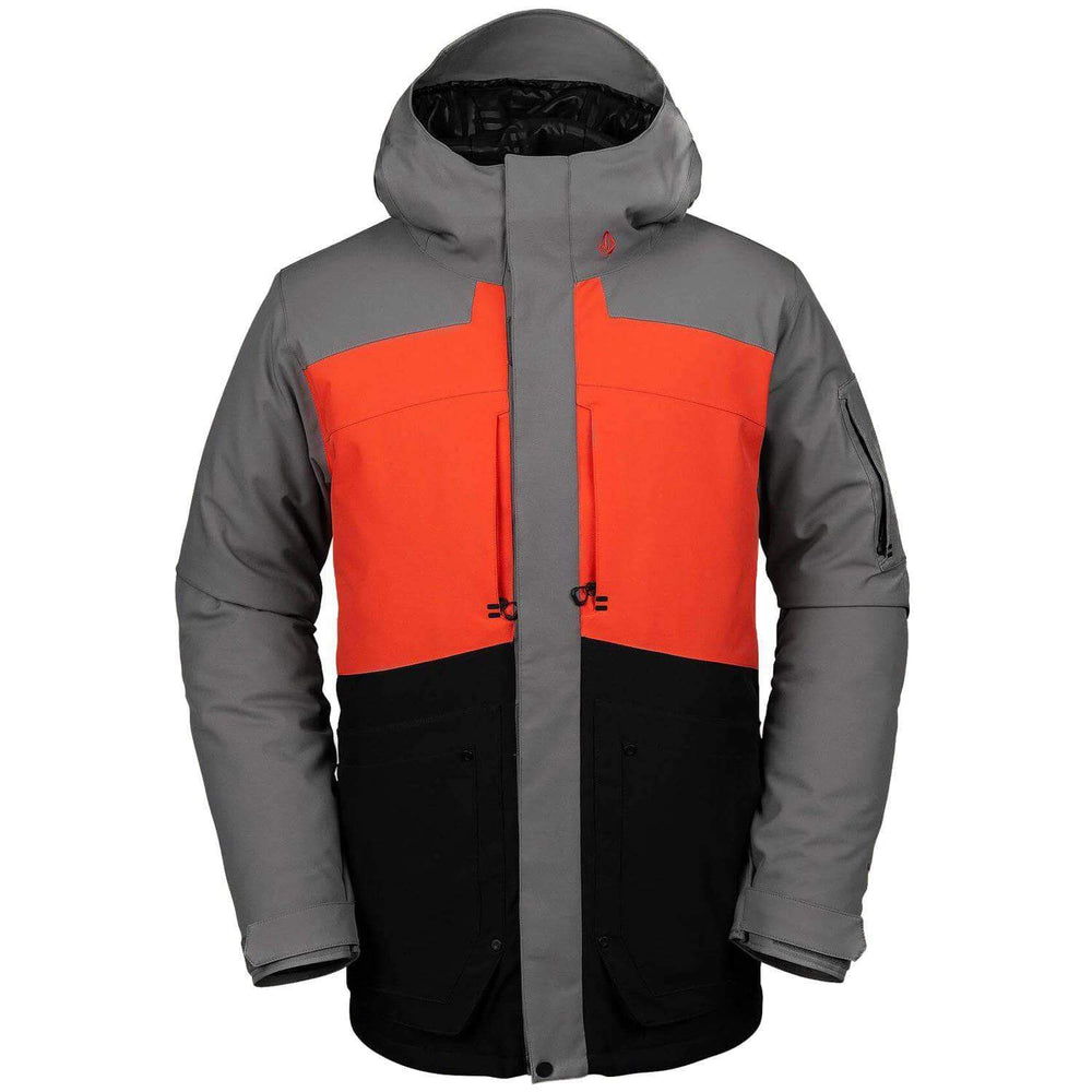 Volcom Scortch Insulated Snow Jacket - Orange Mens Snowboard/Ski Jacket by Volcom