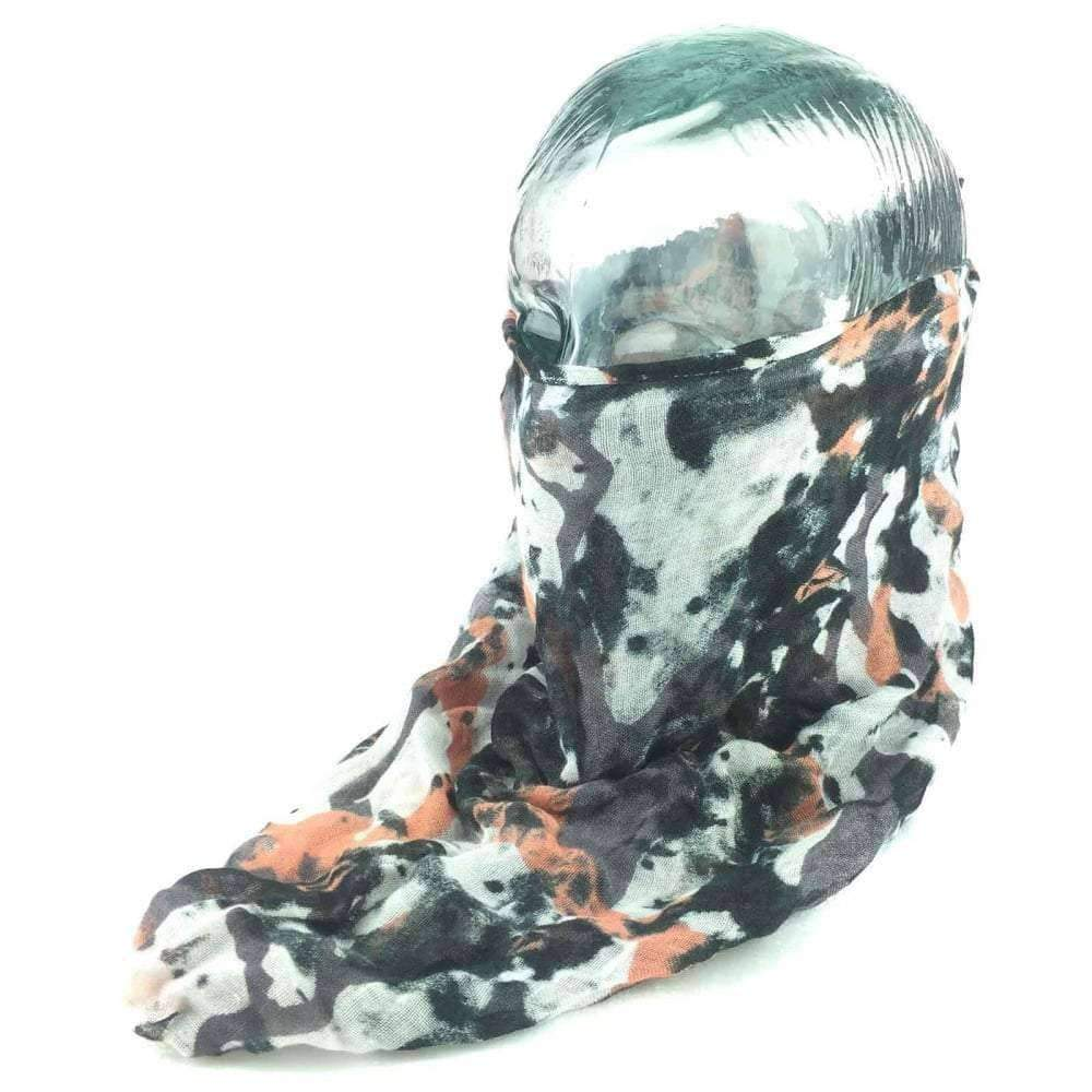 Volcom Scout Scarf GWP in Grey Camo Balaclava/Facemask by Volcom