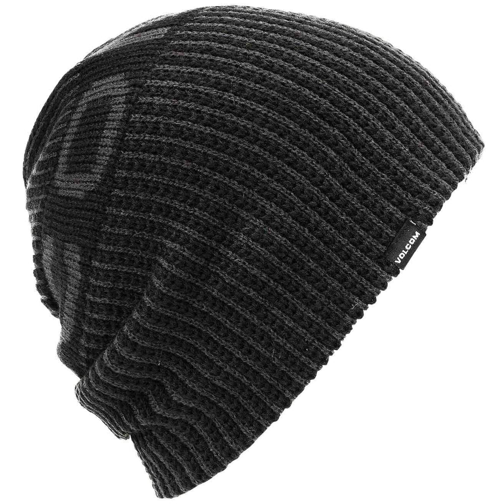 Volcom Slouchy Beanie Hat Volcom Snow Switch Beanie Black O/S (one size)