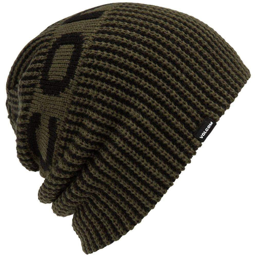 Volcom Snow Switch Beanie Forest Green O/S (one size) Slouchy Beanie Hat by Volcom