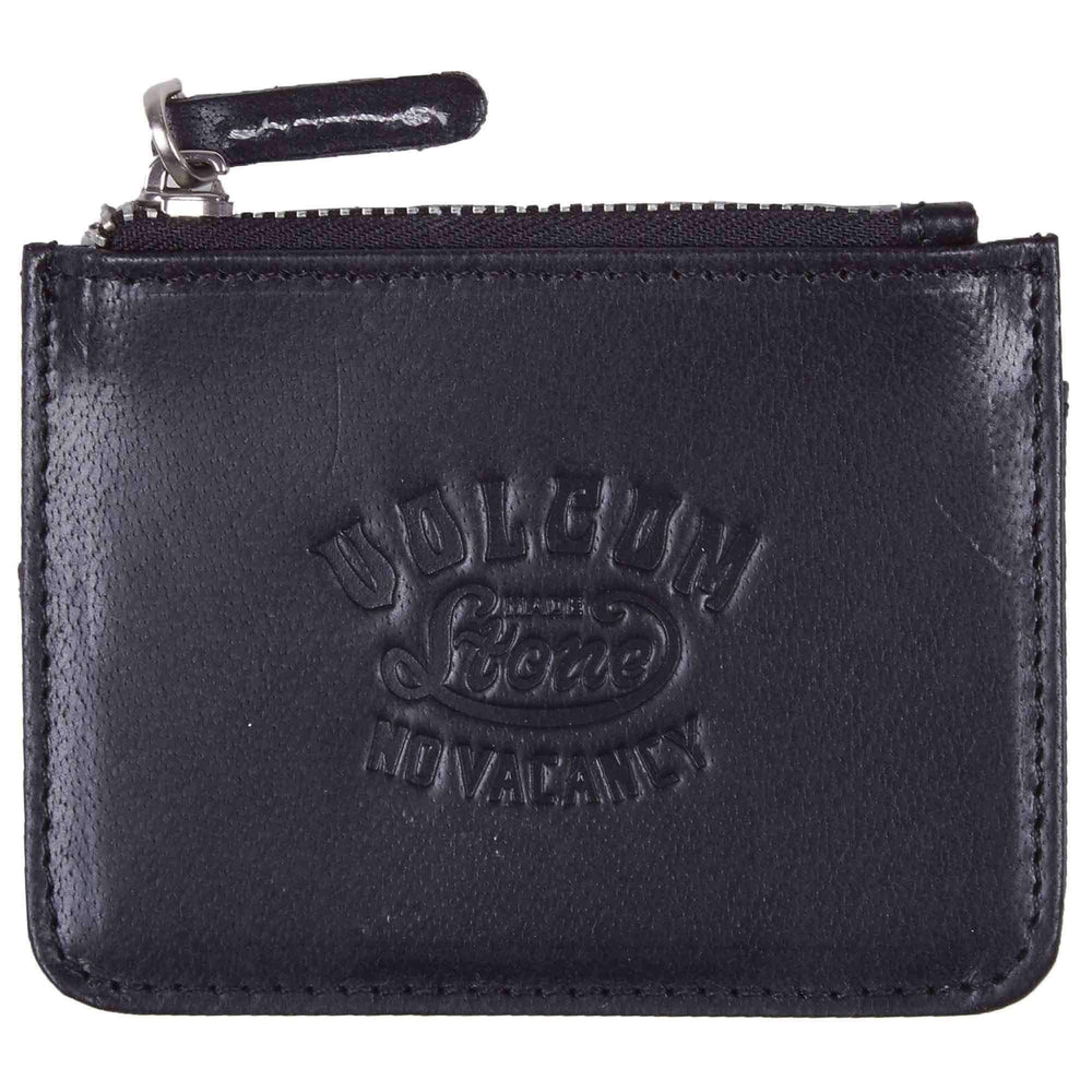 Volcom Mens Wallet Volcom Stone Army Coin Wallet in Black