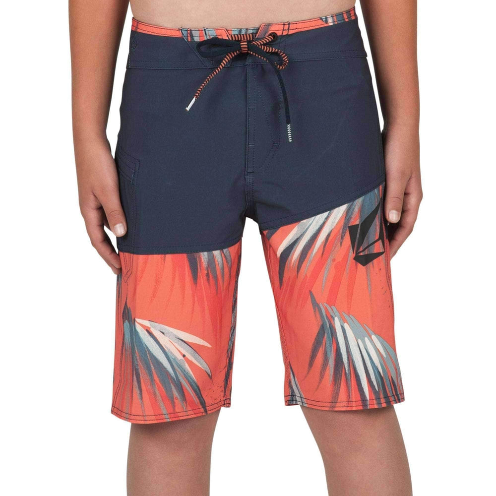 Volcom Boys Boardshorts Volcom Youth Boys Asym Mod Boardshorts in Navy