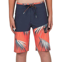 Volcom Youth Boys Asym Mod Boardshorts in Navy Boys Boardshorts by Volcom