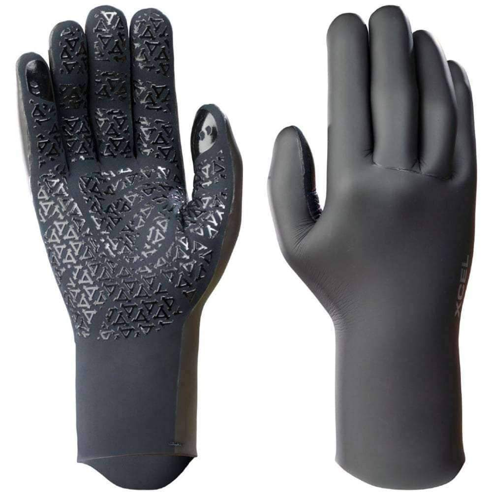 Xcel 2mm Infiniti Comp Glideskin Stitch Free Wetsuit Gloves 5 Finger Wetsuit Gloves by Xcel