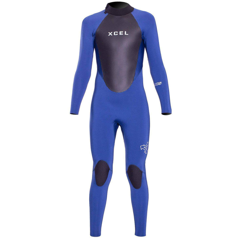 Xcel Kids 5/4mm Axis 2019/20 Wetsuit Faint Blue Kids Full Length Wetsuit by Xcel