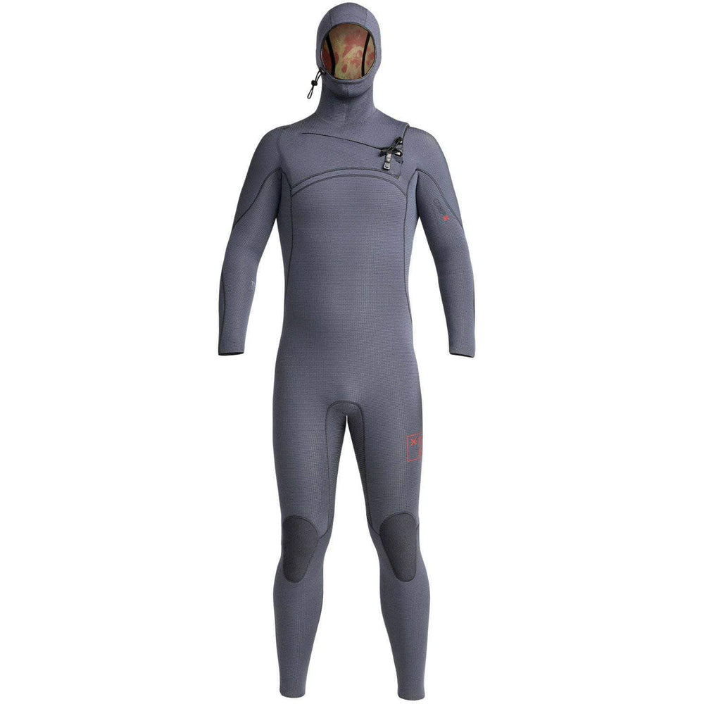 Xcel Mens 4.5/3.5mm Comp X Hooded 2020/21 Wetsuit Gunmetal - Mens Full Length Wetsuit by Xcel