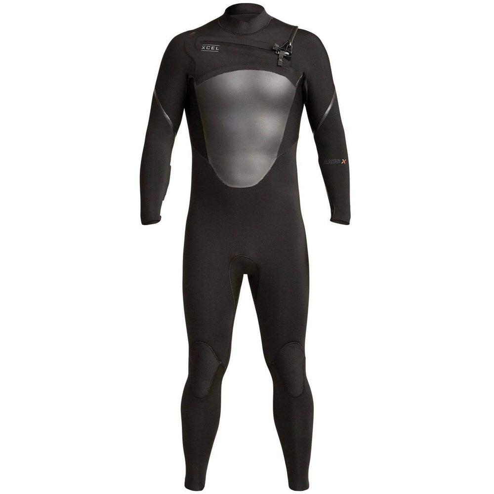Xcel Mens 5/4mm Axis X Chest Zip 2019/20 Wetsuit Black Mens Full Length Wetsuit by Xcel