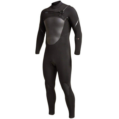 Xcel Mens Full Length Wetsuit Xcel Mens 5/4mm Axis X Chest Zip 2019/20 Wetsuit Black