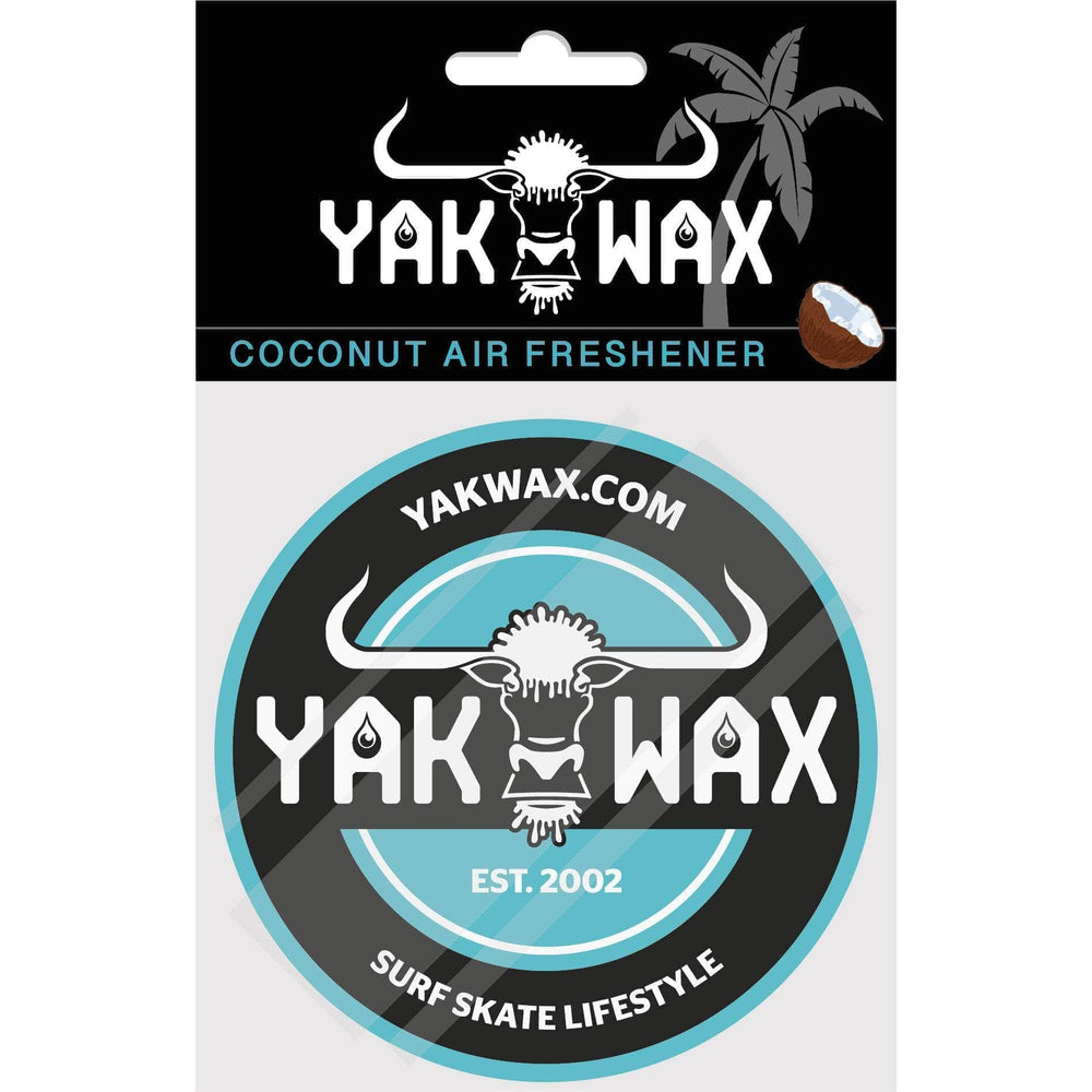Yakwax Est. 2002 Air Freshener Yakwax Green O/S (one size) Car Air Freshener by Yakwax