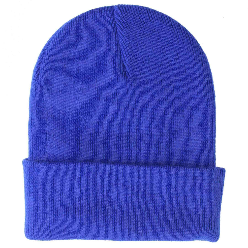 Yakwax Yakwax Foldover Junior Cuffed Beanie in Royal Blue Royal Blue N/A Kids Beanie Hat by Yakwax