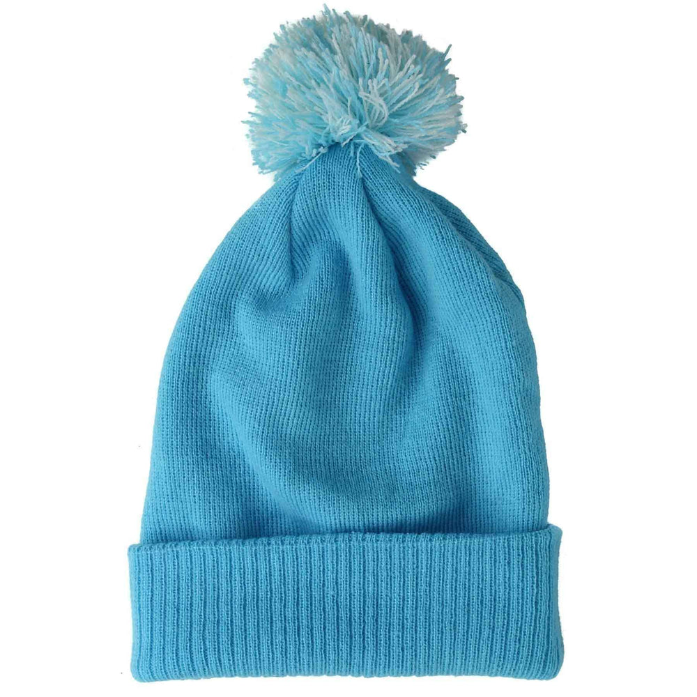 Yakwax Yakwax Snow Star Junior Beanie in Surf Blue Surf Blue N/A Kids Beanie Hat by Yakwax