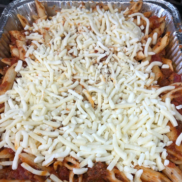 Pasta Bake Marinara (with Meat) Family Meal (Serves 4)