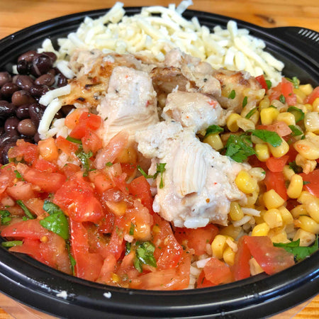 Fiesta Rice Bowl with Chicken, Individual Meal