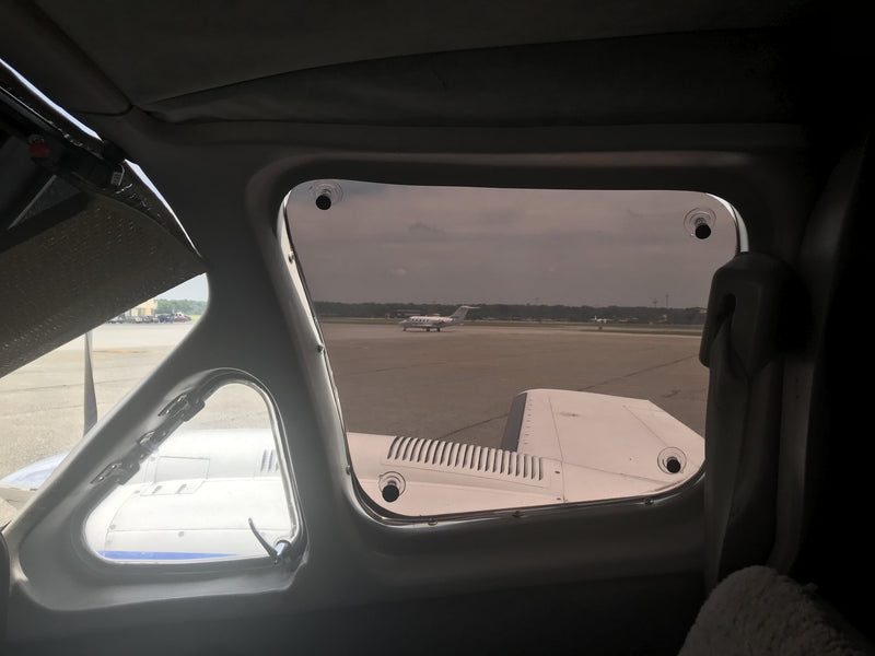 Plane Tint Removable Window Tint
