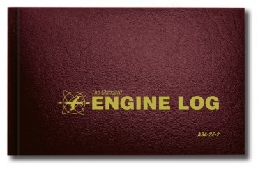 ASA ENGINE LOG SE-2 HARD COVER