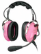 PILOT USA PA-1151ACG CHILD PASSIVE HEADSET - PINK