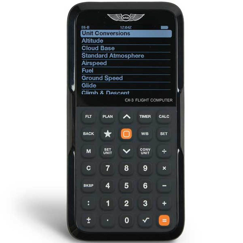 ASA CX-3 ELECTRONIC FLIGHT COMPUTER