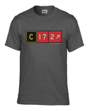 Cessna 172 Taxiway Sign T-Shirt