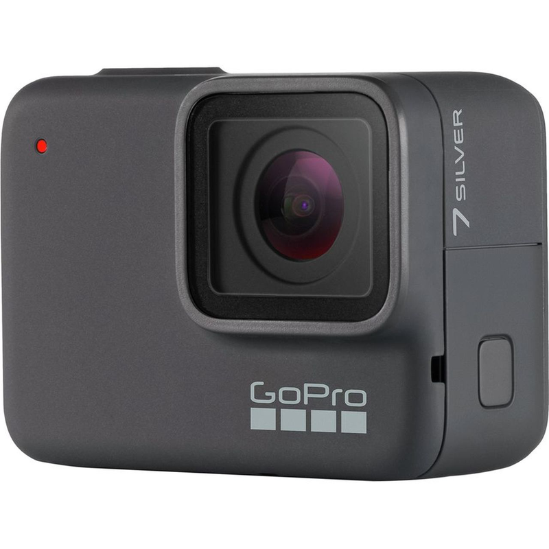 GoPro Hero7 Silver Specialty Bundle with SD Card