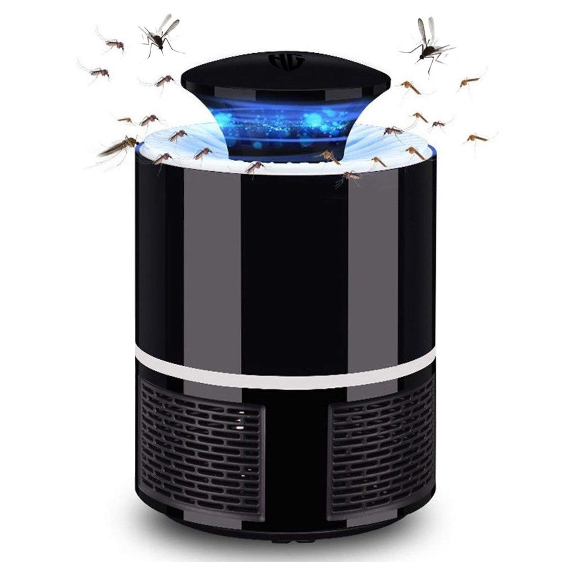 50% OFF Electric Mosquito Insect Killer With 360° LED Trap Lamp