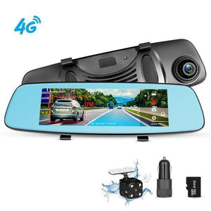 """7"""" Touch HD 1080P DVR Lens Camera Vehicle Rearview Mirror Dash Cam Recorder"""