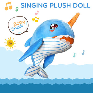50% OFF 2019 New Singing Baby Shark Plush Toys For Kids Gift