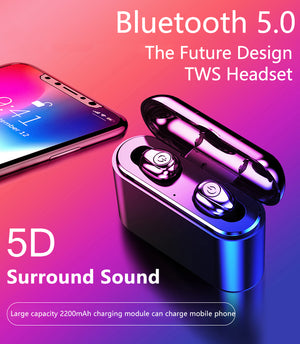 FREE SHIPPING| 2019 New Bluetooth 5.0 Wireless Waterproof Invisible Earphone