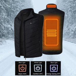 USB Heated Outdoor Vest (5V/2A)