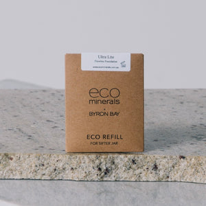 ECO refills of mineral foundation