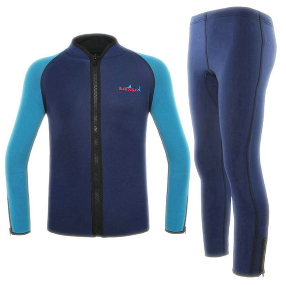 2 Piece Wet Diving Suit