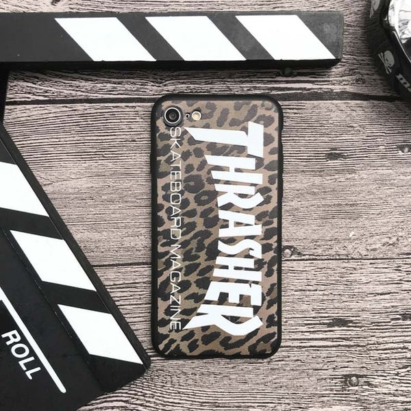 Skateboard Silicon Cover case for Iphone 6 6S plus 7 7plus 8 8plus X