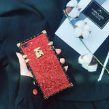 Sparkly  Vintage Metal Tone Case For Samsung Galaxy S8 S9 Plus