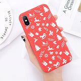 Cristmas Phone Case For iPhone 5 5s 6s 6plus 7 7plus 8 8plus X XR XS MAX