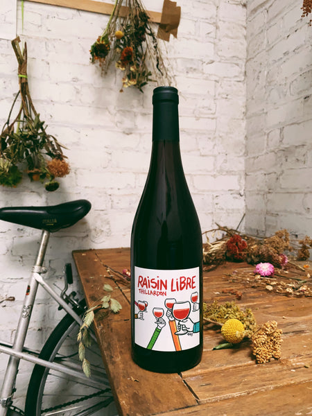 VdF Rouge 'Raisin Libre' 2019