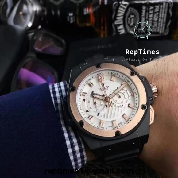 Hublot Big Bang Replica Men Watch (Available In Different Variations) - RepTimes is the best website to buy the best quality replica fake designer brand swiss movement watches.