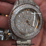 ICED OUT BUST DOWN Replica Rolex Sea Dweller Watch - RepTimes is the best website to buy the best quality replica fake designer brand swiss movement watches.