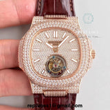 Iced Out Replica Patek Nautilus Men (select) - RepTimes is the best website to buy the best quality replica fake designer brand swiss movement watches.