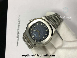 Plain Jane Replica patek philippe Nautilus mens watch - RepTimes is the best website to buy the best quality replica fake designer brand swiss movement watches.