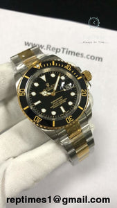 Plain Jane Replica Rolex Submariner watches (Available in different variations) - RepTimes is the best website to buy the best quality replica fake designer brand swiss movement watches.