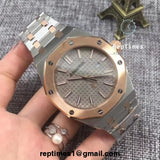 Replica Audemars Piguet AP royal oak with AP on dial (select style) - RepTimes is the best website to buy the best quality replica fake designer brand swiss movement watches.