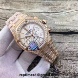Replica Audemars Piguet royal oak chrongraph mens watch - RepTimes is the best website to buy the best quality replica fake designer brand swiss movement watches.